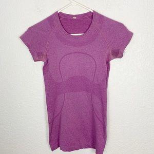 Lululemon Purple Swiftly Tech Shirt 4